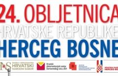 24. obljetnica Hrvatske republike Herceg-Bosne