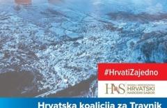 """Priopćenje za javnost """"Hrvatske koalicije za Travnik"""""""